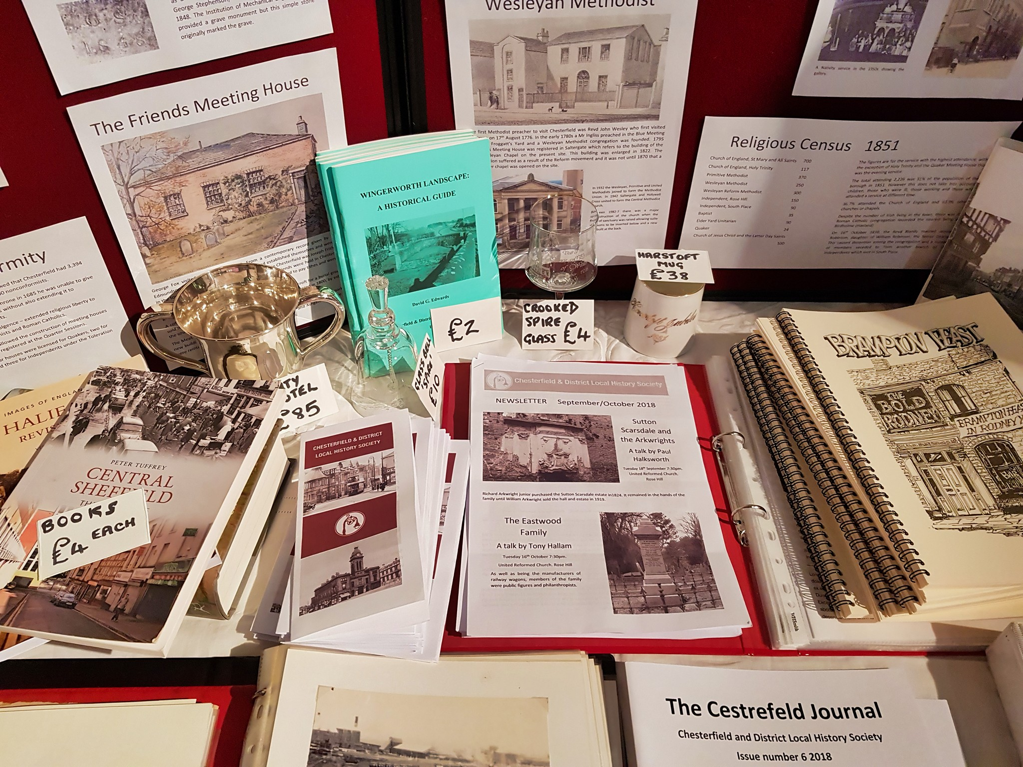 Chesterfield-District-Local-History-Society-Stall-Museum