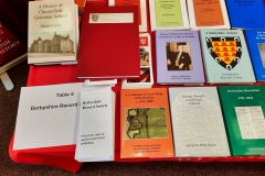 Derbyshire-Record-Society-Museum-Stall