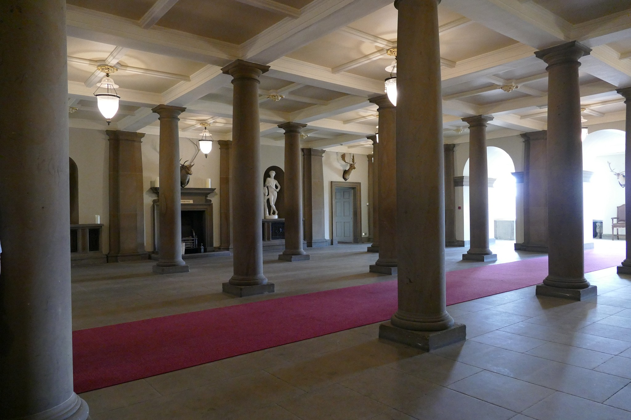 The Pillared Hall