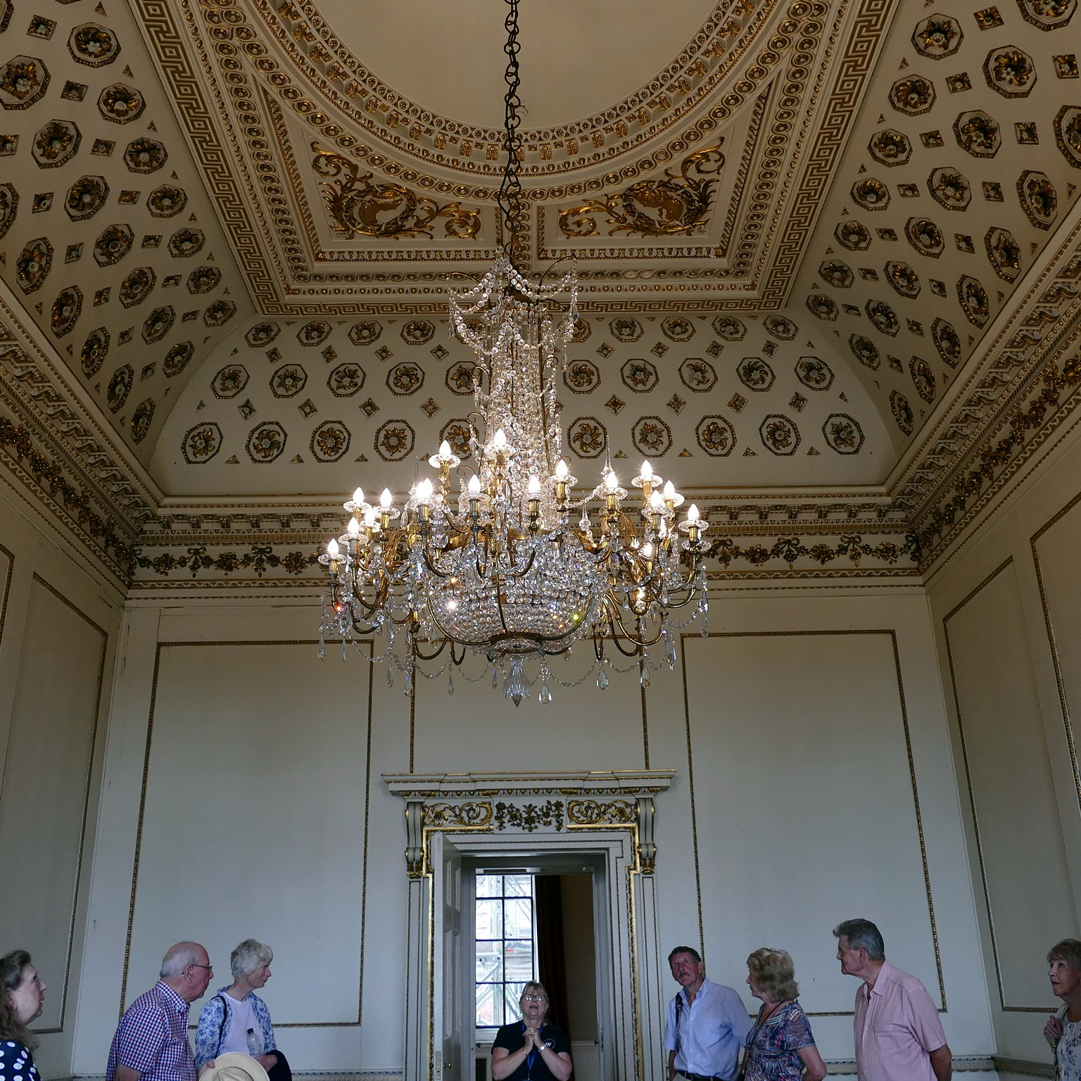 The Van Dyke Room Chandelier