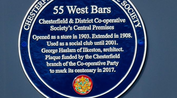 Chesterfield and the Co-operative Movement.